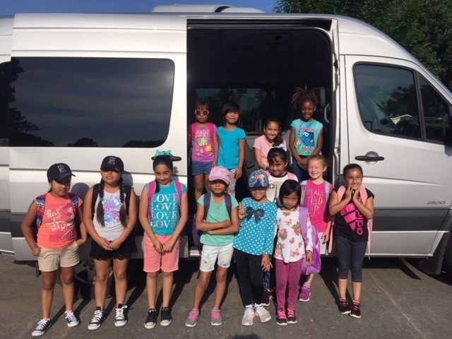 Girl Scouts heading to camp!